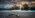 2017-3135 Karlsaue Pavillon on frozen Lake
