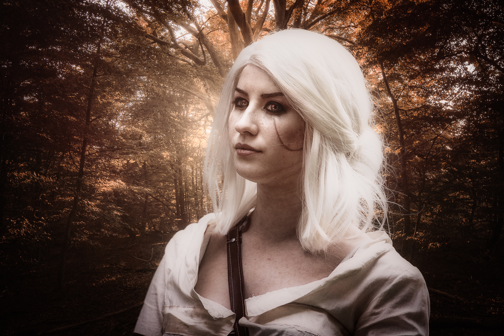 Connichi 2017 - Awesome con!  I met so many great cosplayers, I need to share their creative artwork, so all know that this is art and no childsplay :)  Cosplay: Cirilla Fiona Elen Riannon (Witcher) Cosplayer: @enyu_cosplay