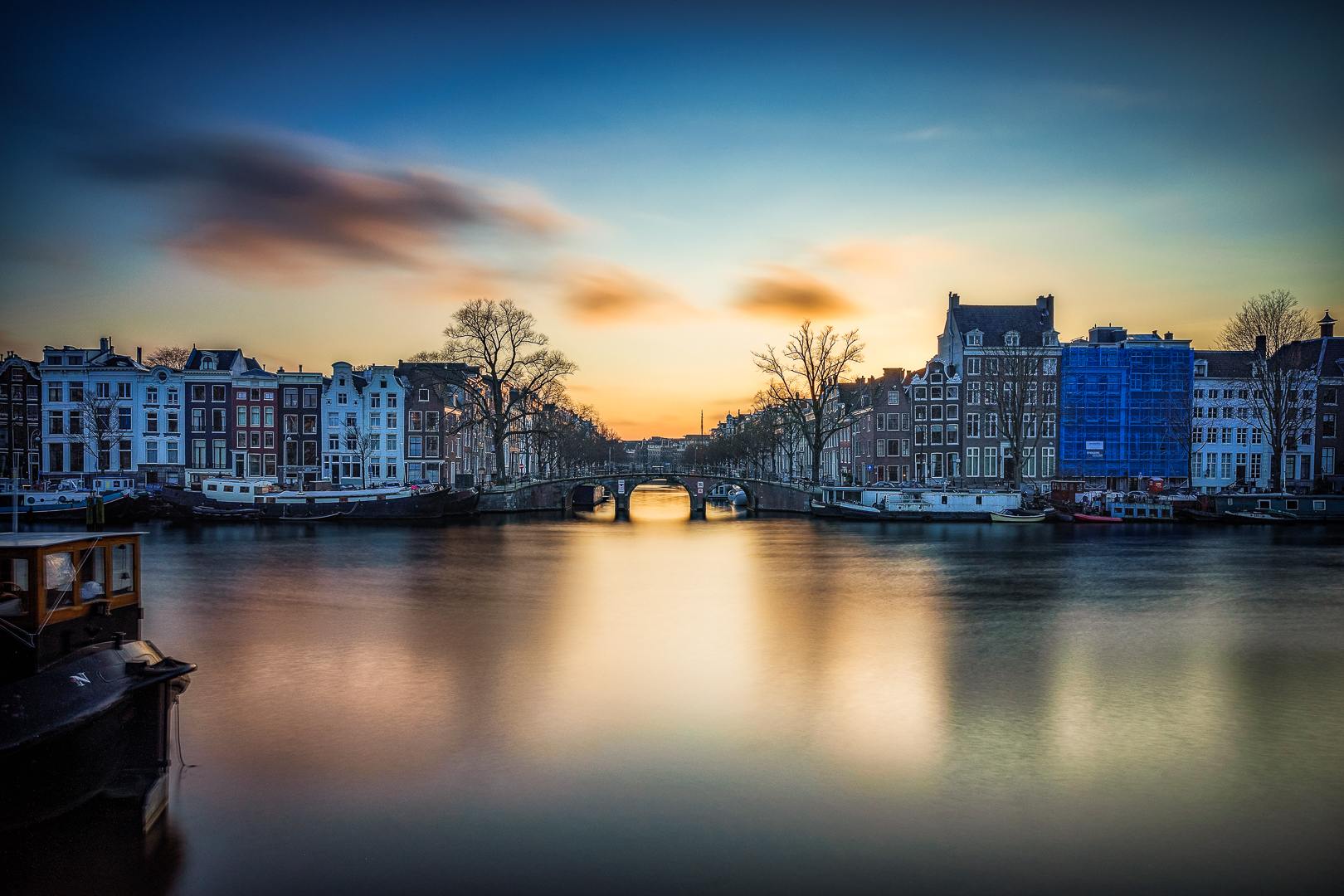 20180-5045 Amsterdam Sunset in Color